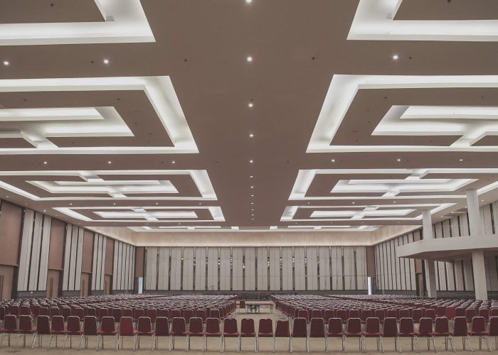 Hall di Bekasi Convention Center